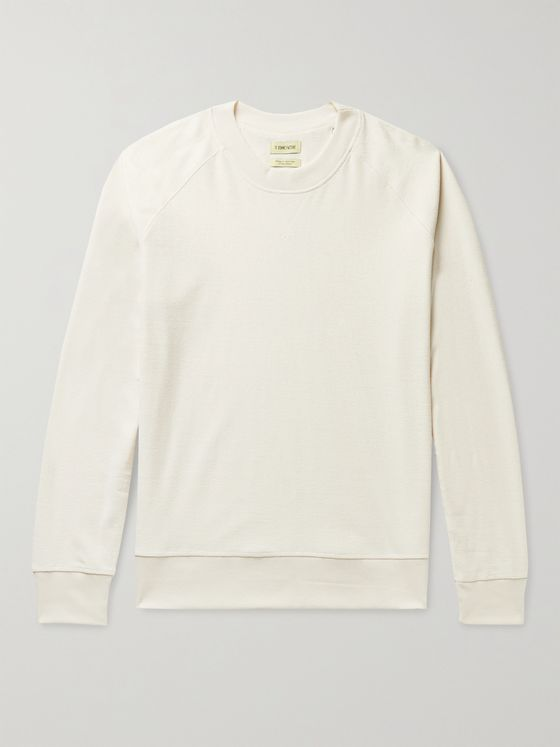 DE BONNE FACTURE Cotton-Terry Sweatshirt