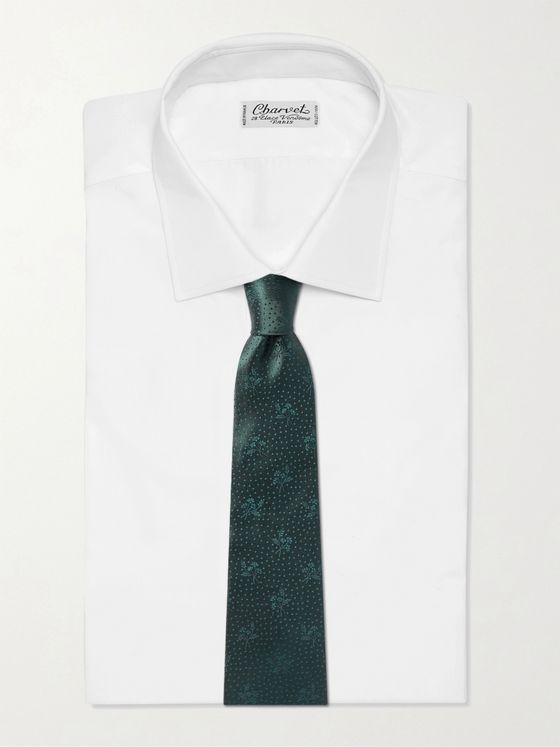 PAUL SMITH 10cm Silk-Jacquard Tie