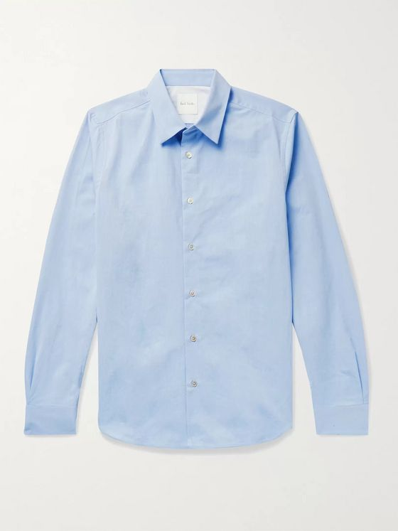 PAUL SMITH Slim-Fit Cotton-Poplin Shirt