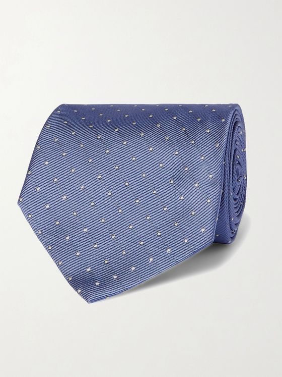 PAUL SMITH 8cm Polka-Dot Silk-Jacquard Tie