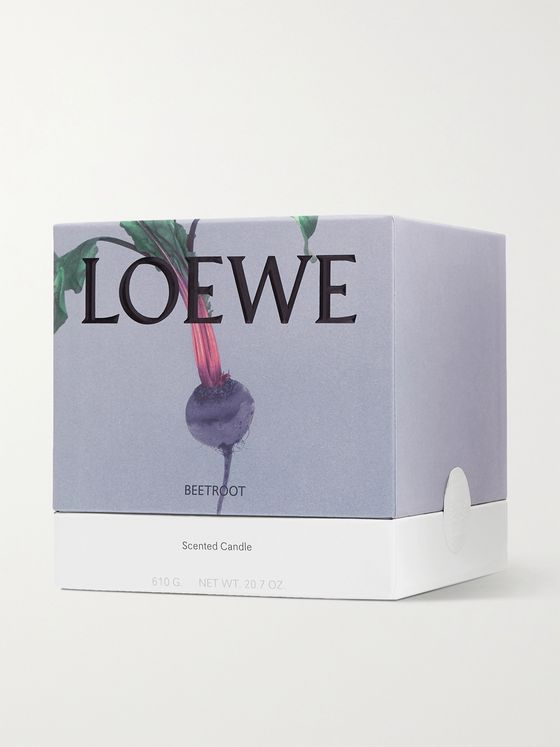 LOEWE HOME SCENTS Beetroot Scented Candle, 610g