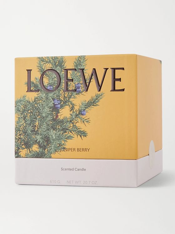 LOEWE HOME SCENTS Juniper Berry Scented Candle, 610g
