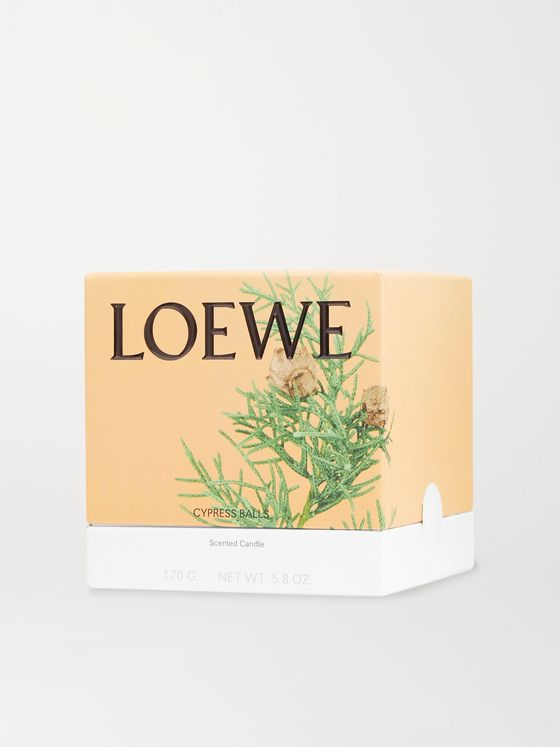 LOEWE HOME SCENTS Cypress Balls Scented Candle, 170g