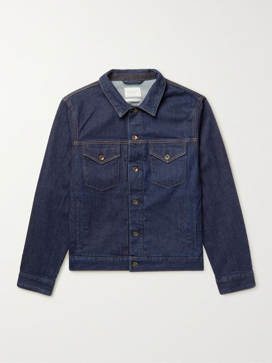 RAG & BONE Definitive Rinsed-Denim Jacket