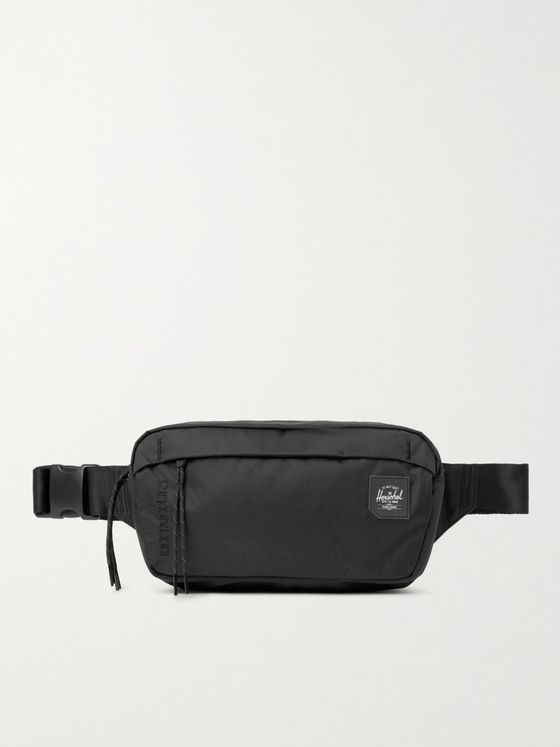 HERSCHEL SUPPLY CO Logo-Appliquéd 210D Nailhead Dobby-Nylon Belt Bag