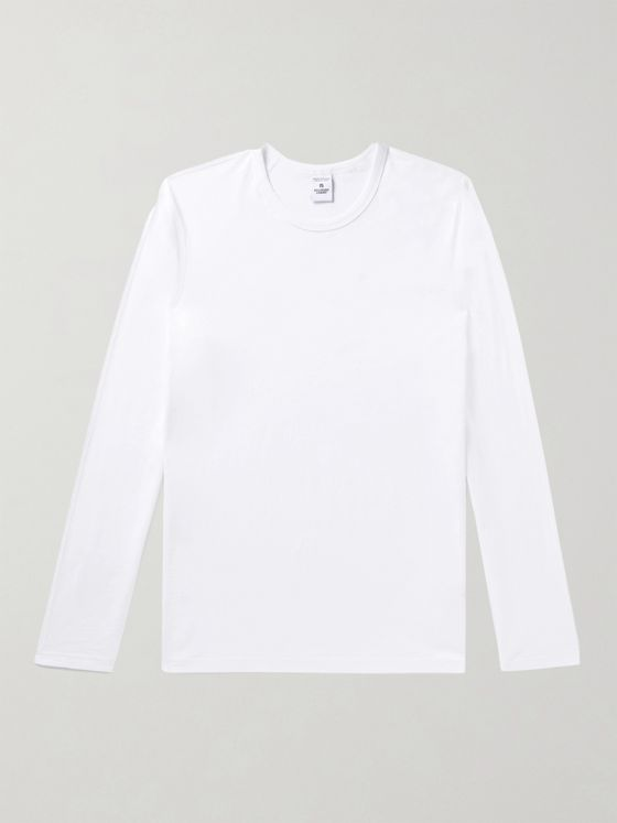 REIGNING CHAMP Ring-Spun Pima Cotton-Jersey T-Shirt