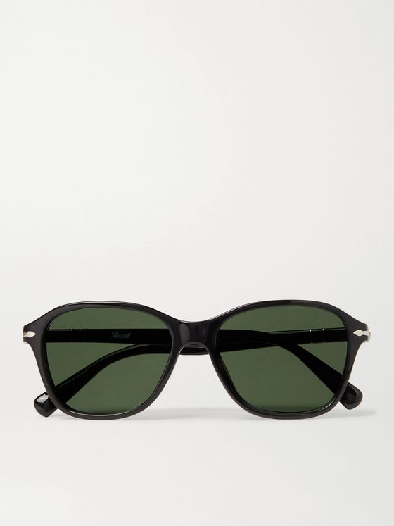 PERSOL Square-Frame Acetate Sunglasses