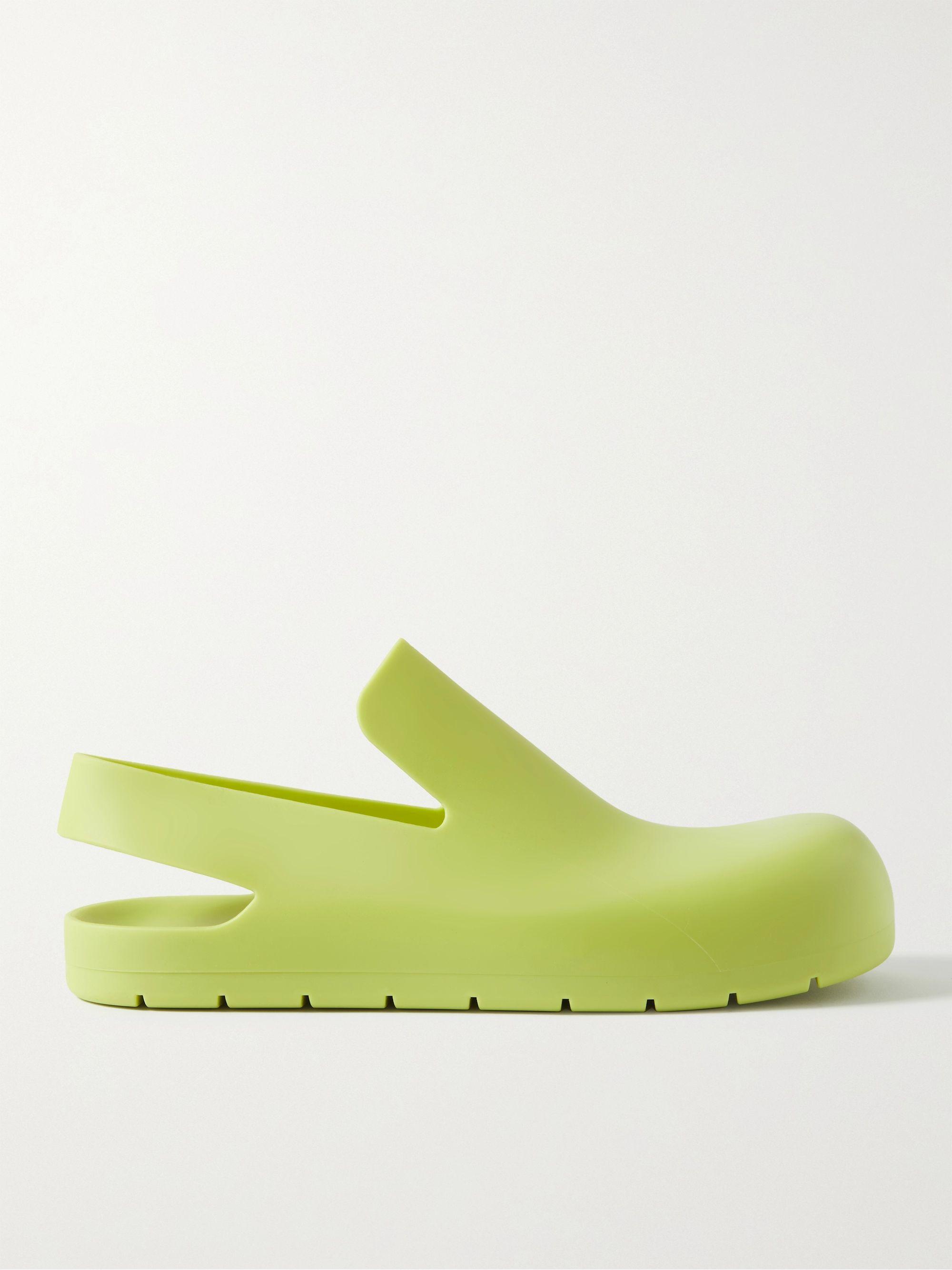 보테가 베네타 Bottega Veneta Rubber Sandals,Green