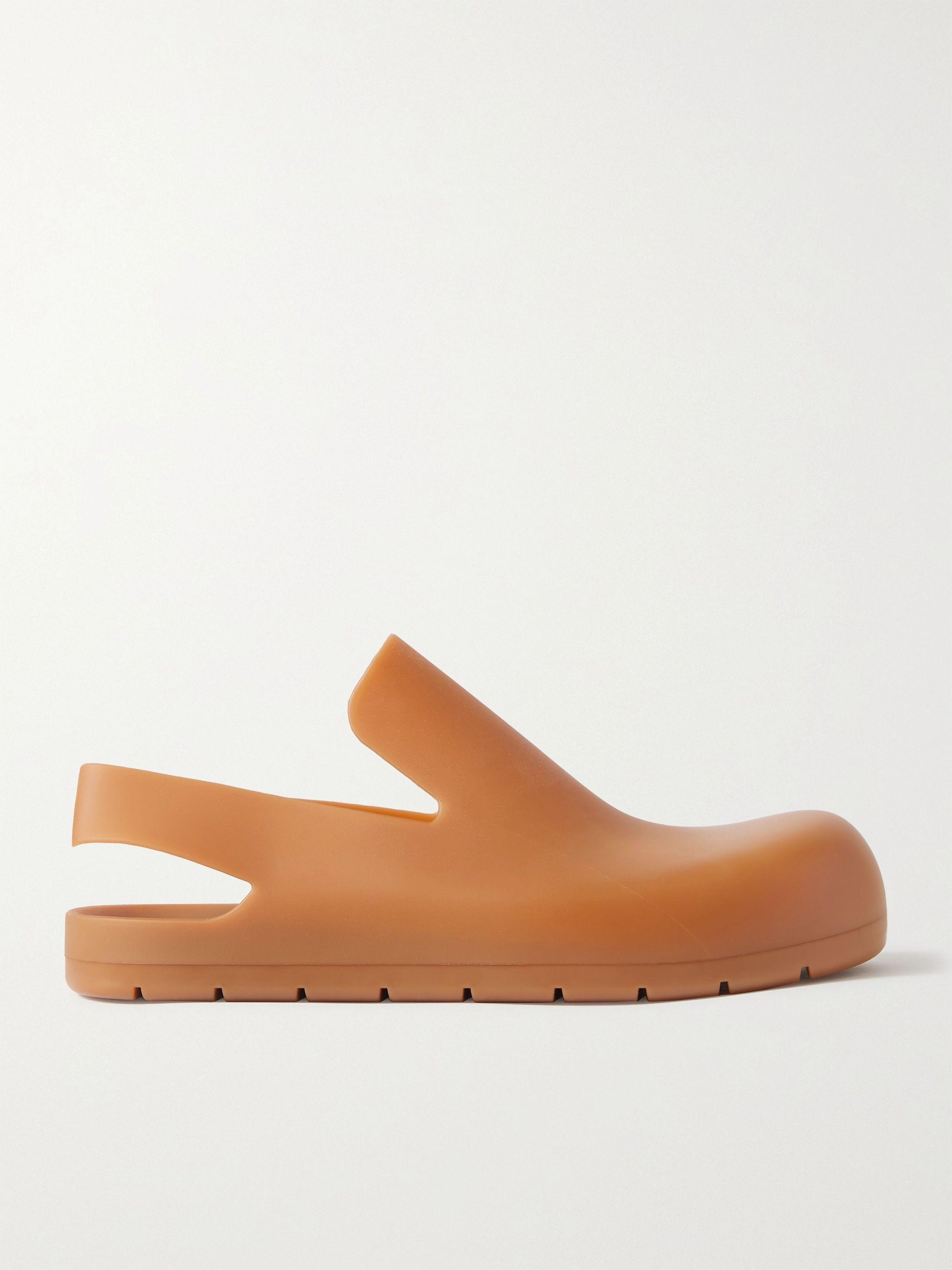보테가 베네타 Bottega Veneta Rubber Sandals,Brown