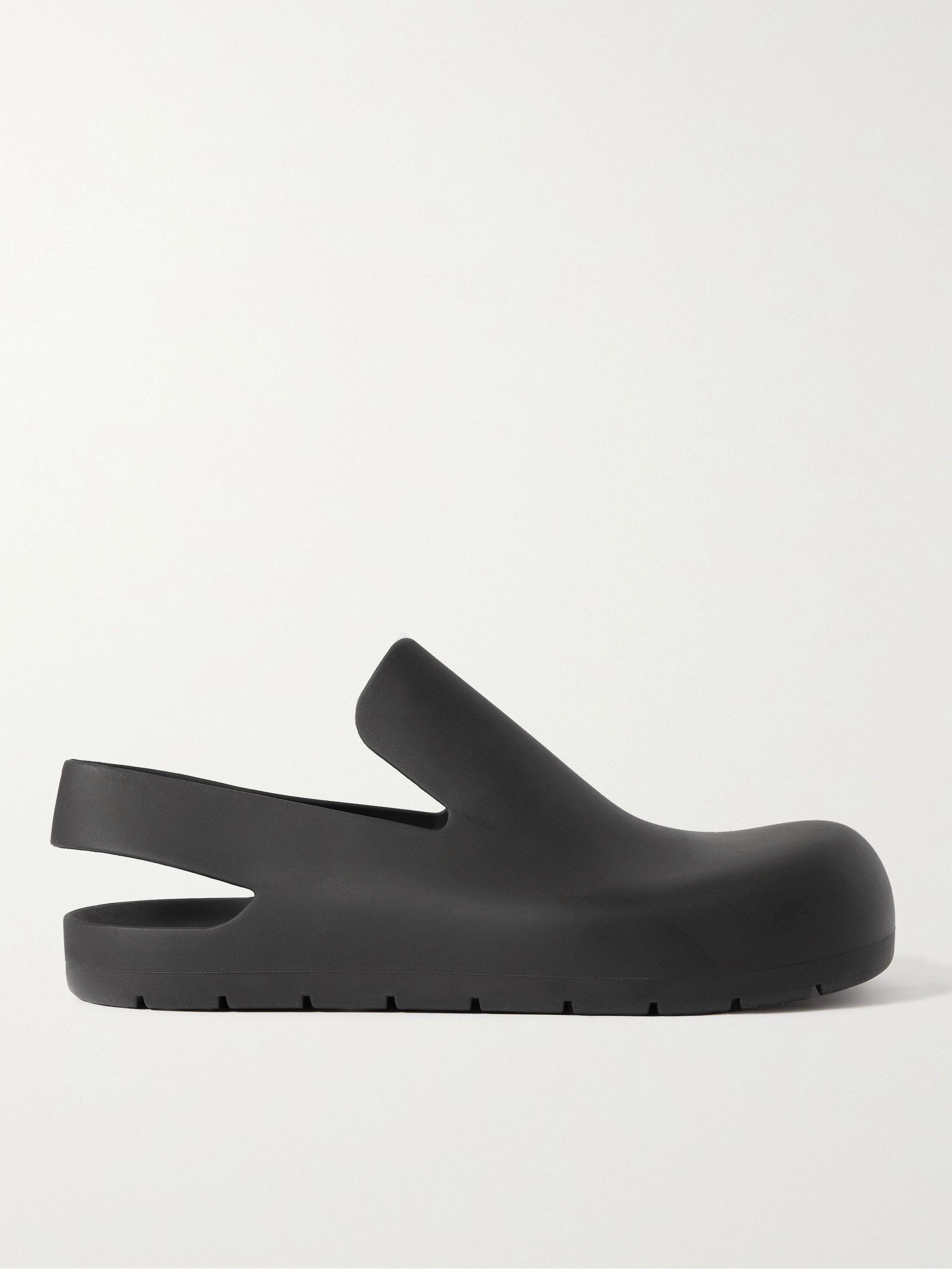 보테가 베네타 Bottega Veneta Rubber Sandals,Black