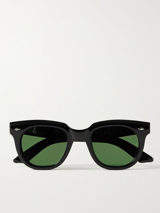 JACQUES MARIE MAGE Sturges Round-Frame Acetate Sunglasses