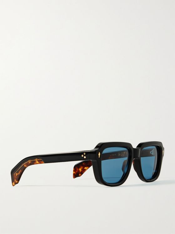 JACQUES MARIE MAGE Taos Square-Frame Acetate Sunglasses