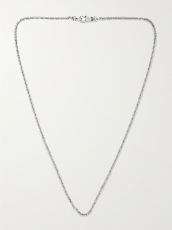 TOM WOOD Silver Necklace
