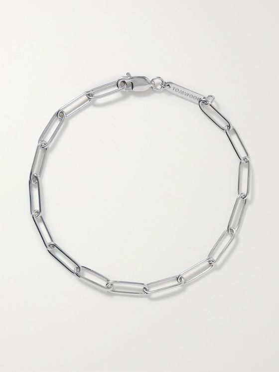 TOM WOOD Sterling Silver Chain Bracelet