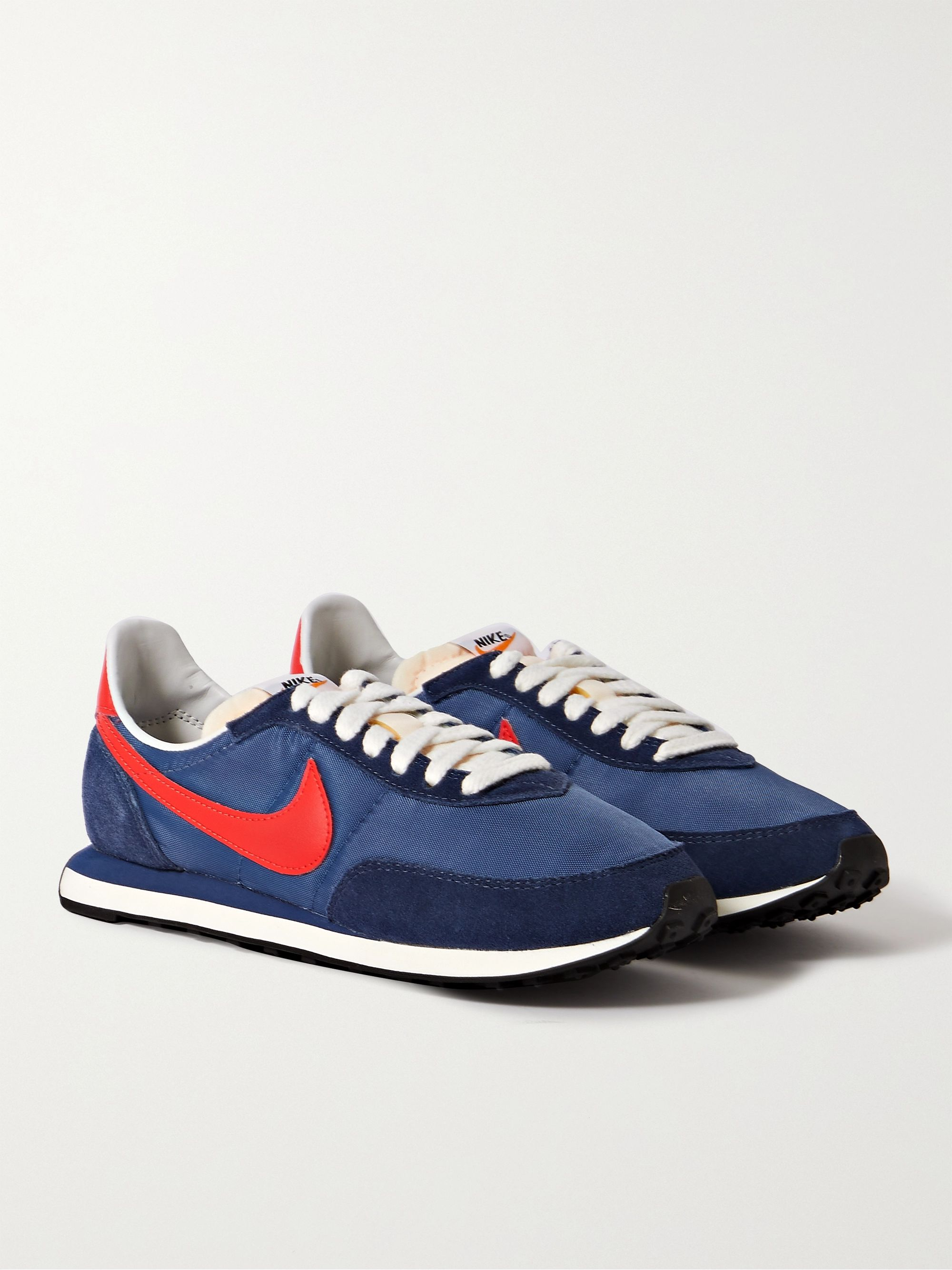 NIKE Waffle 2 SP Leather and Suede-Trimmed Nylon Sneakers