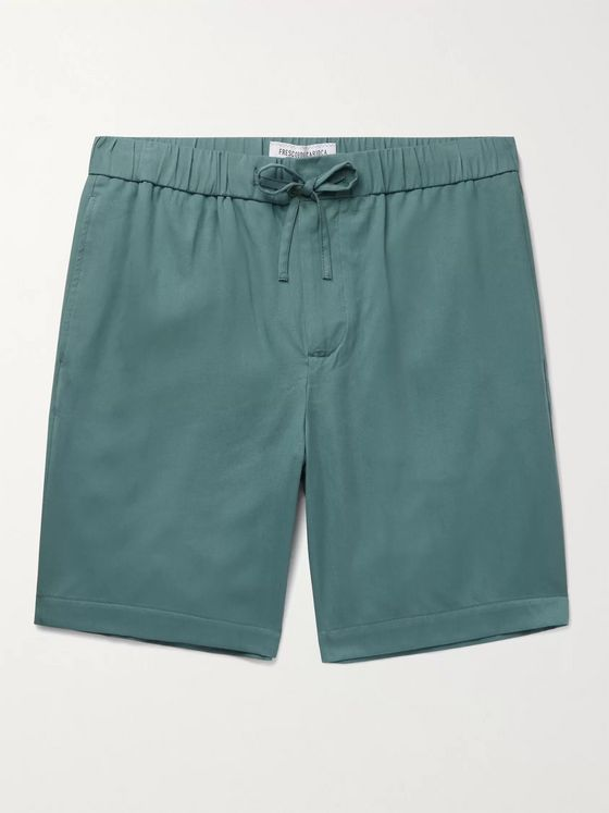 FRESCOBOL CARIOCA Slim-Fit TENCEL Drawstring Shorts