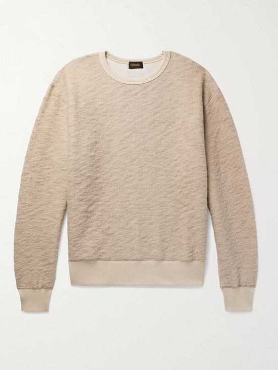 Chimala Textured Wool-Blend Sweatshirt