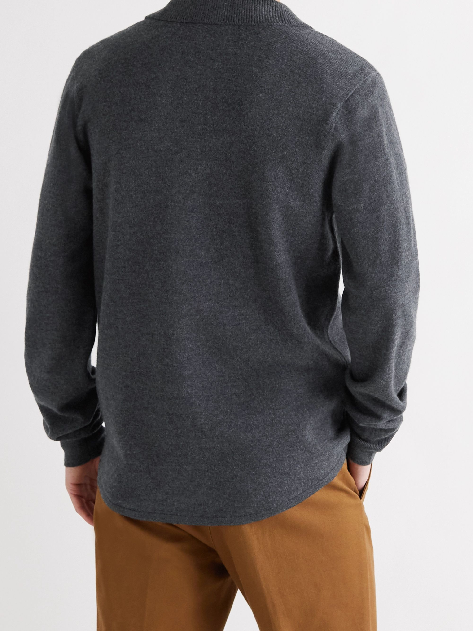NORSE PROJECTS Martin Boiled Wool Cardigan
