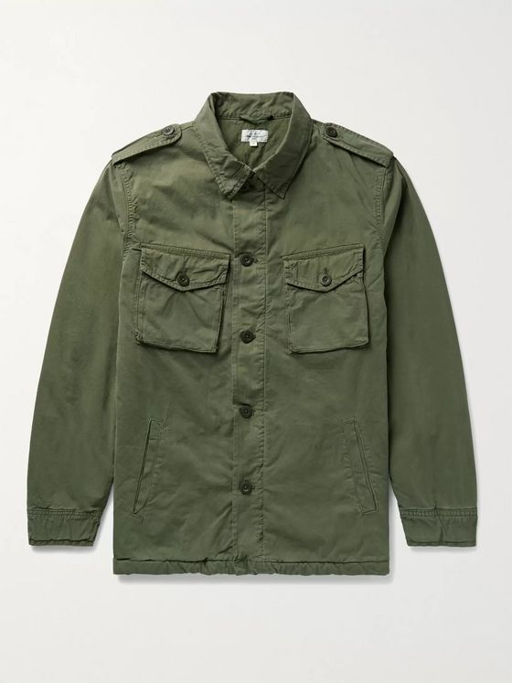 HARTFORD Jonah Padded Cotton Jacket