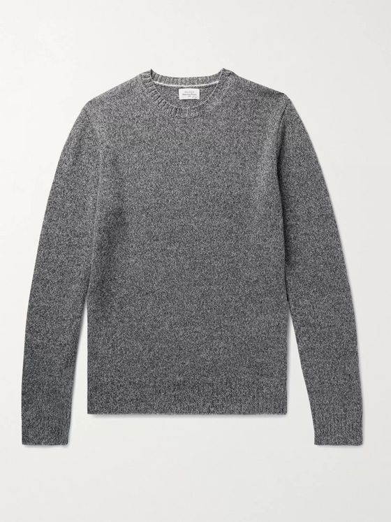 Hartford Shetland Wool-Blend Sweater