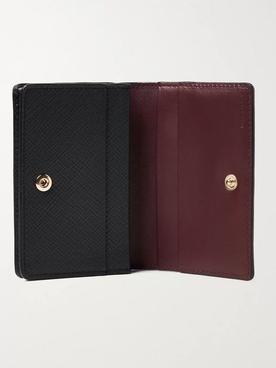 SMYTHSON Full-Grain Leather Bifold Cardholder