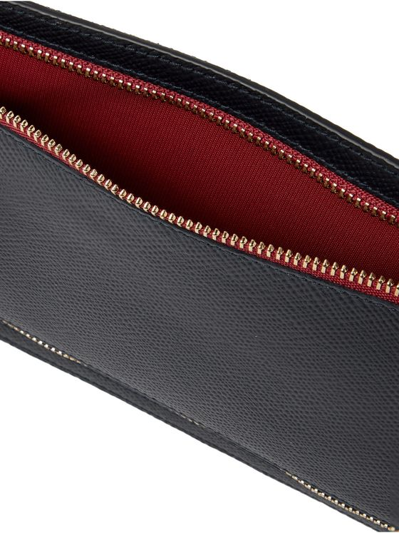 SMYTHSON Ludlow Cross-Grain Leather Currency Case