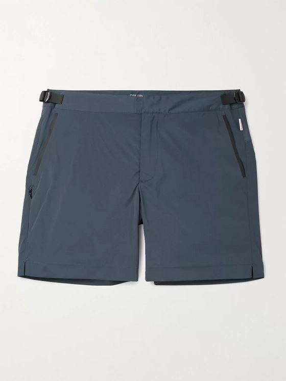 ORLEBAR BROWN Shark Capsule Bulldog Mid-Length Swim Shorts