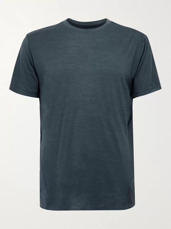 Orlebar Brown Sammy Merino Wool-Blend T-Shirt