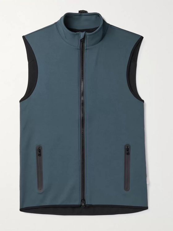 Orlebar Brown Whitman Tech-Jersey Gilet