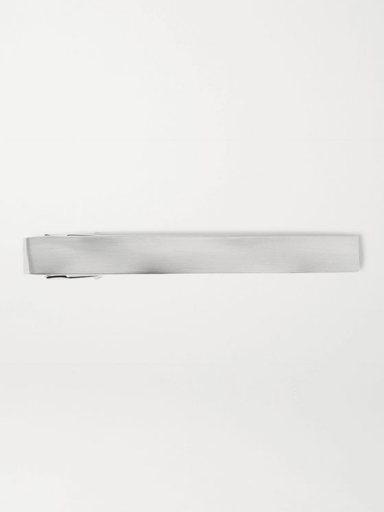 LANVIN Rhodium-Plated Tie Pin