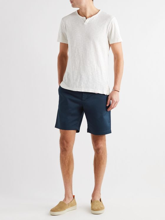 ORLEBAR BROWN Marshall Cotton-Blend Shorts