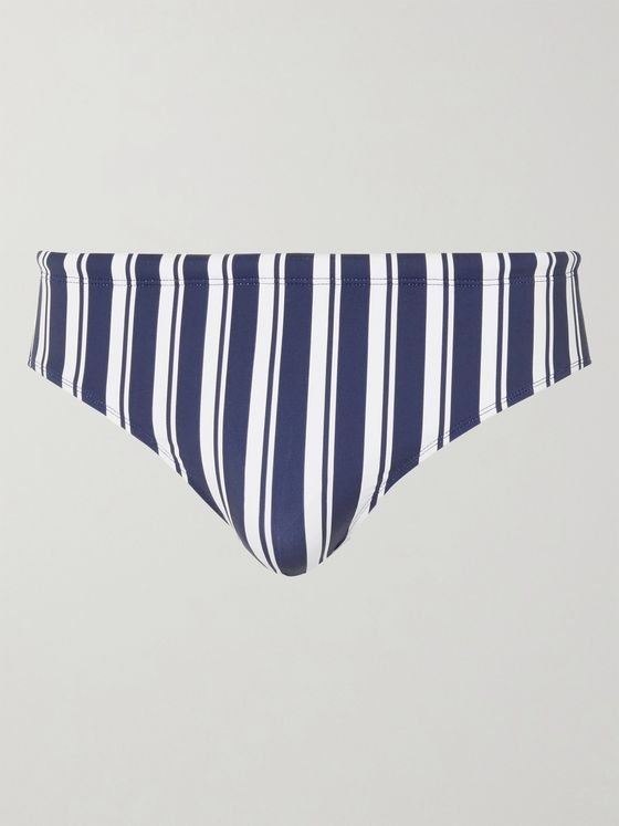 ORLEBAR BROWN Dachshund Striped Swim Briefs