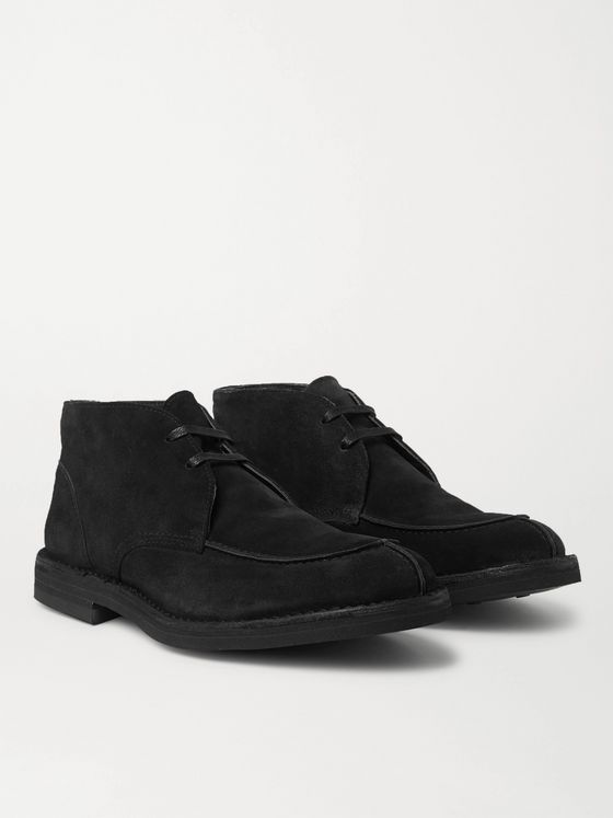 MR P. Split-Toe Suede Chukka Boots