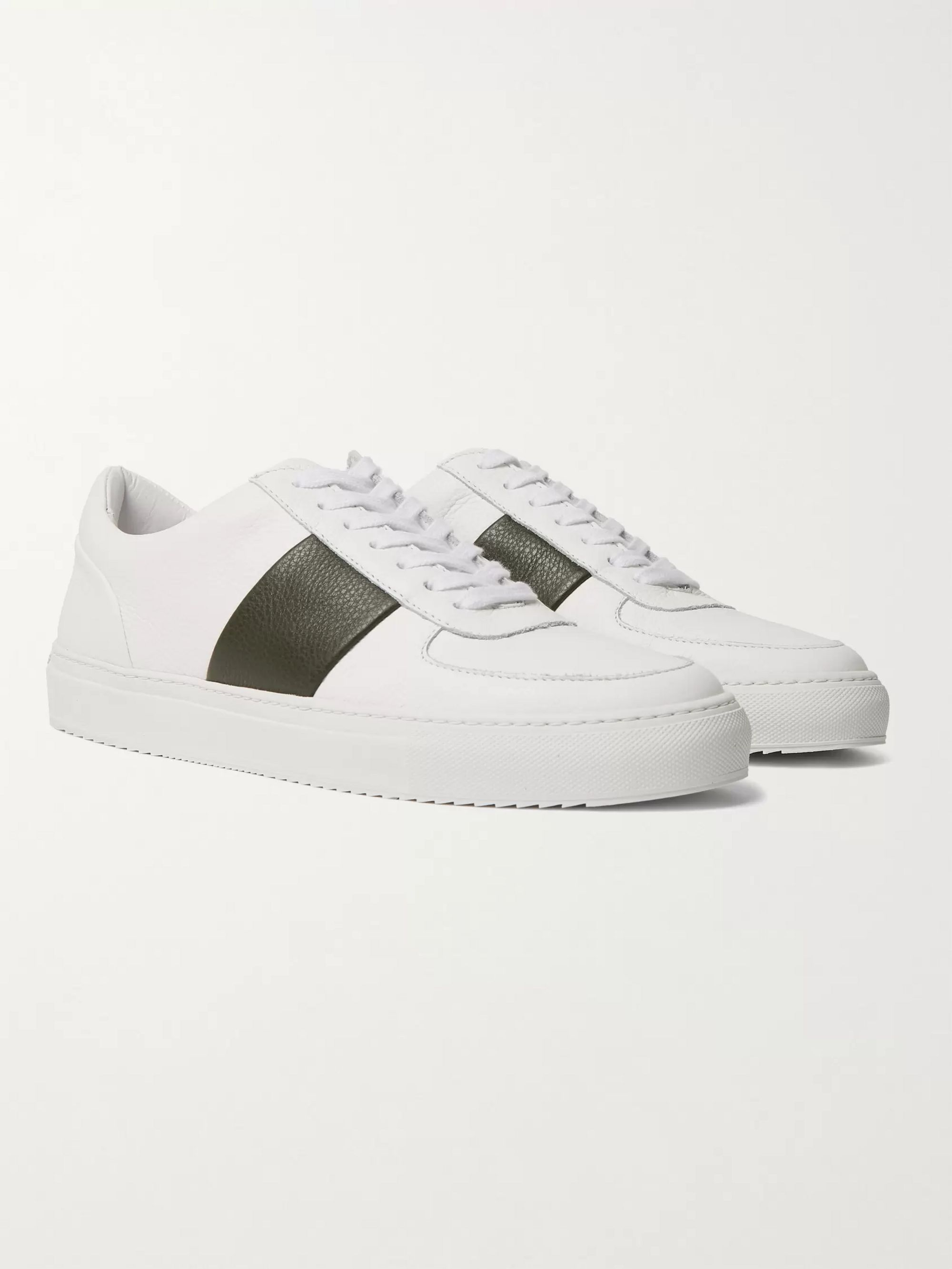 Larry Leather Sneakers | Mr P. | MR PORTER