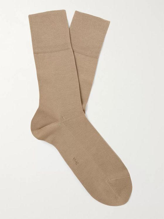 FALKE Tiago City Fil d'Ecosse Cotton-Blend Socks
