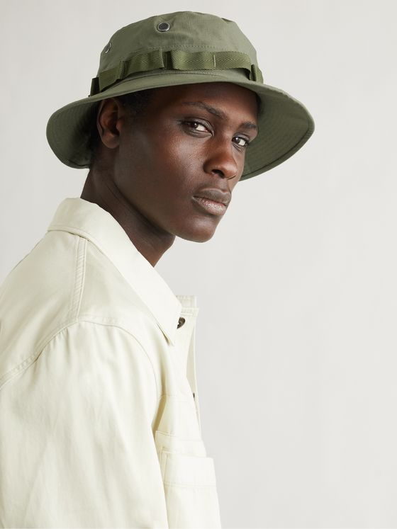 ORSLOW Cotton-Ripstop Bucket Hat