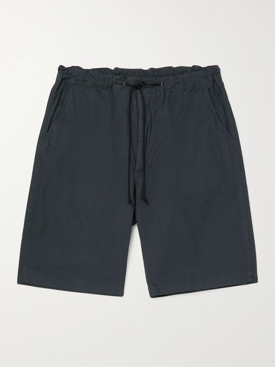 ORSLOW New Yorker Cotton Drawstring Shorts