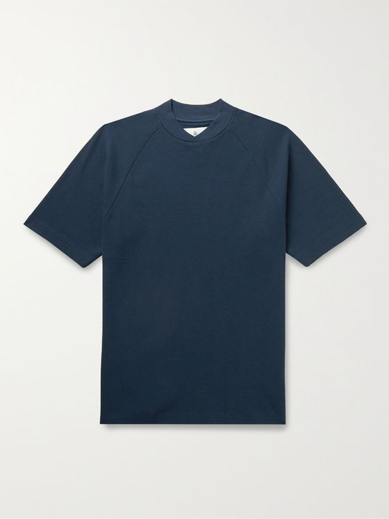 BARBOUR WHITE LABEL Albion Cotton-Piqué T-Shirt