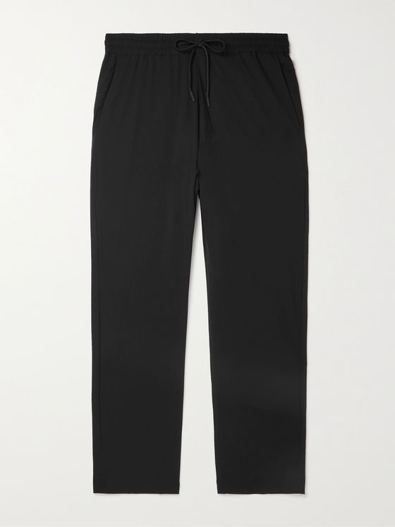 Snow Peak Slim-Fit Tapered Primeflex Drawstring Trousers