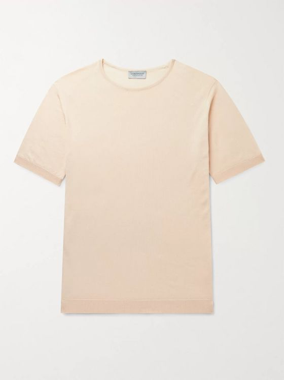 John Smedley Belden Slim-Fit Sea Island Cotton T-Shirt