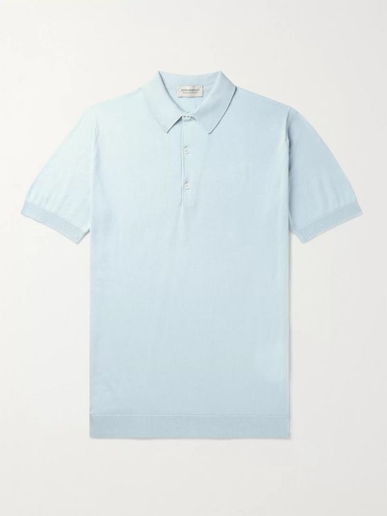 John Smedley Adrian Slim-Fit Sea Island Cotton Polo Shirt