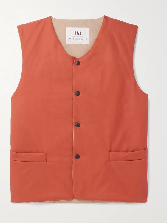 The Workers Club + Mackintosh Slim-Fit Tech-Cotton Gilet