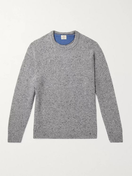 Faherty Donegal Merino Wool-Blend Sweater
