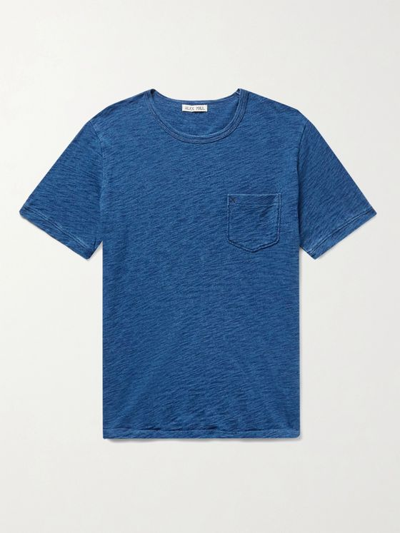 ALEX MILL Standard Slim-Fit Slub Cotton-Jersey T-Shirt