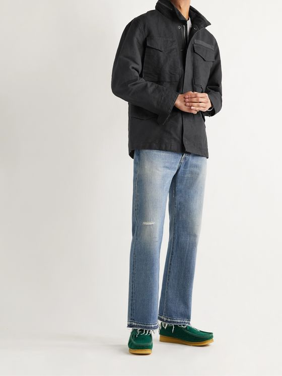 ALEX MILL Cotton-Blend Canvas Jacket