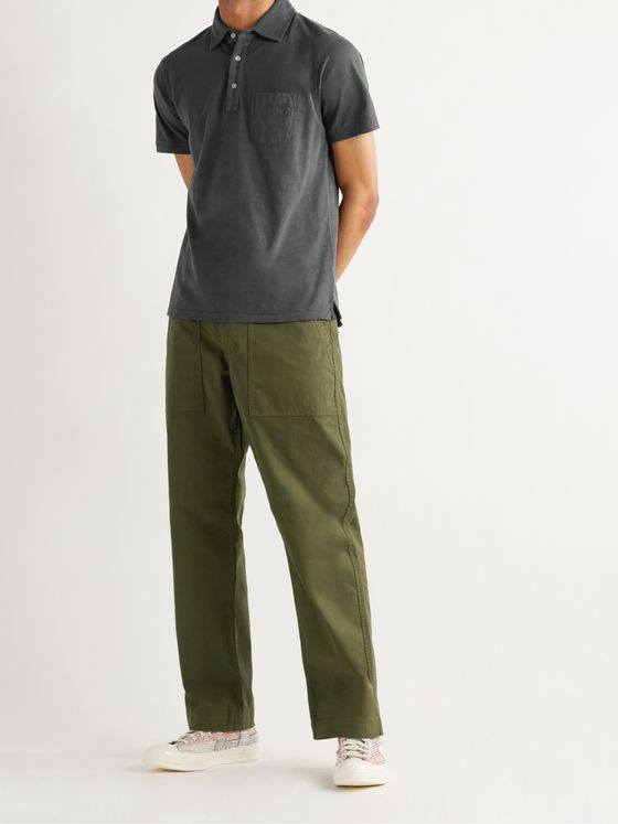 ALEX MILL Field Stretch BCI Cotton-Twill Chinos