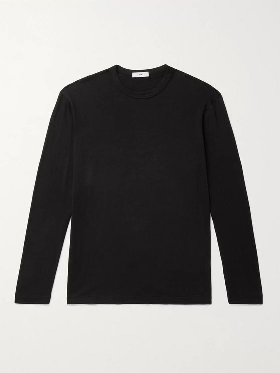SSAM Cotton and Cashmere-Blend T-Shirt