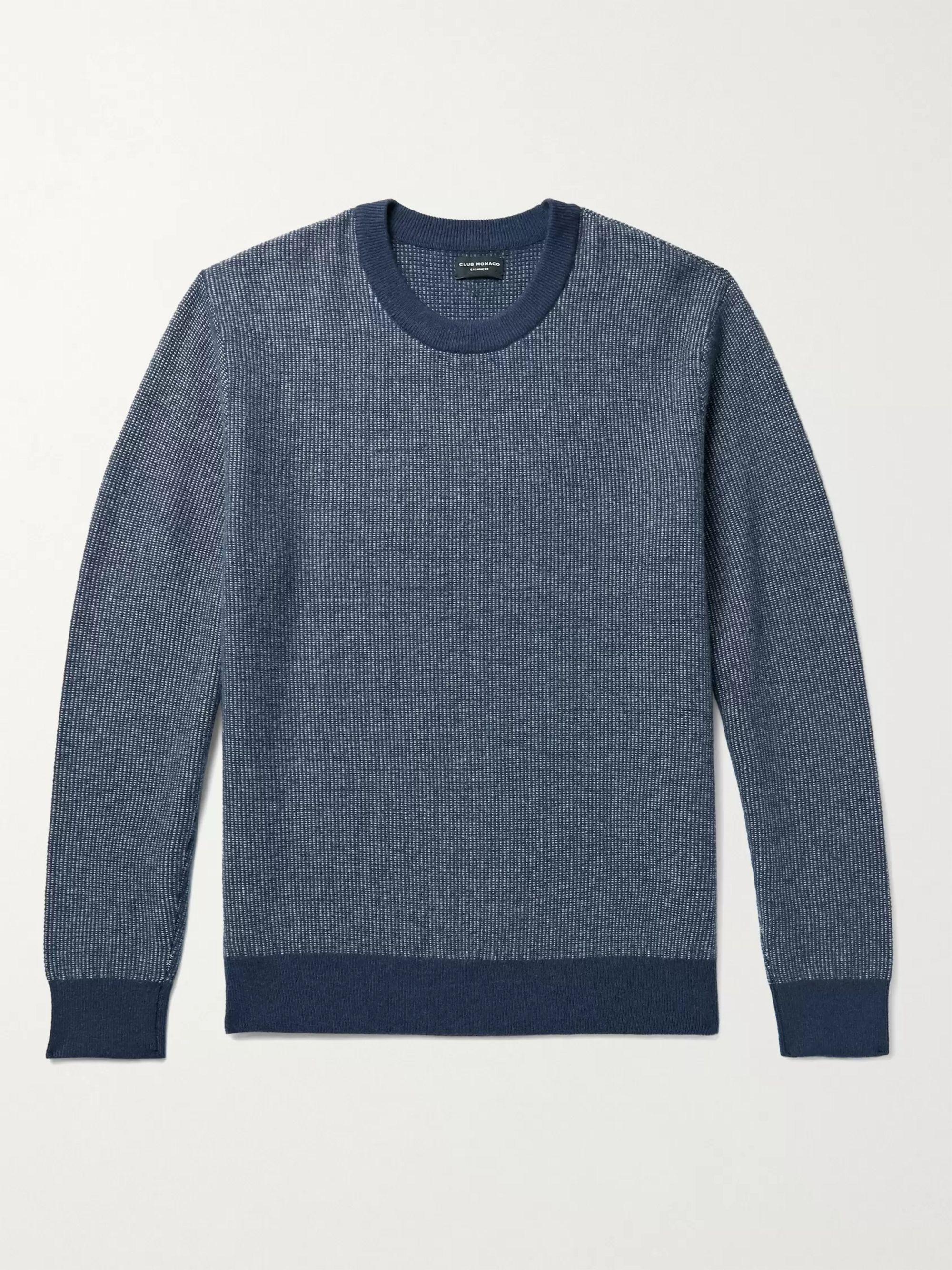 CLUB MONACO Cashmere Jacquard Sweater