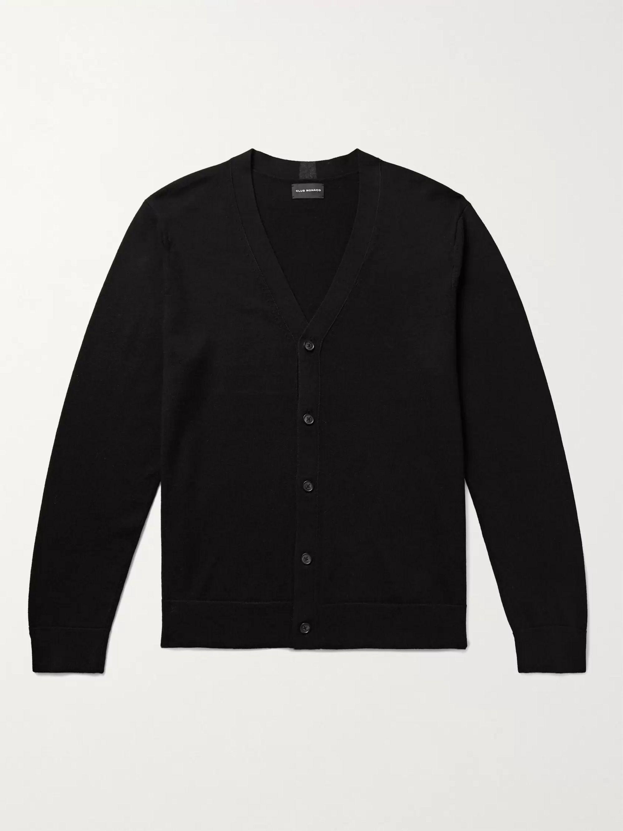 CLUB MONACO Wool Cardigan