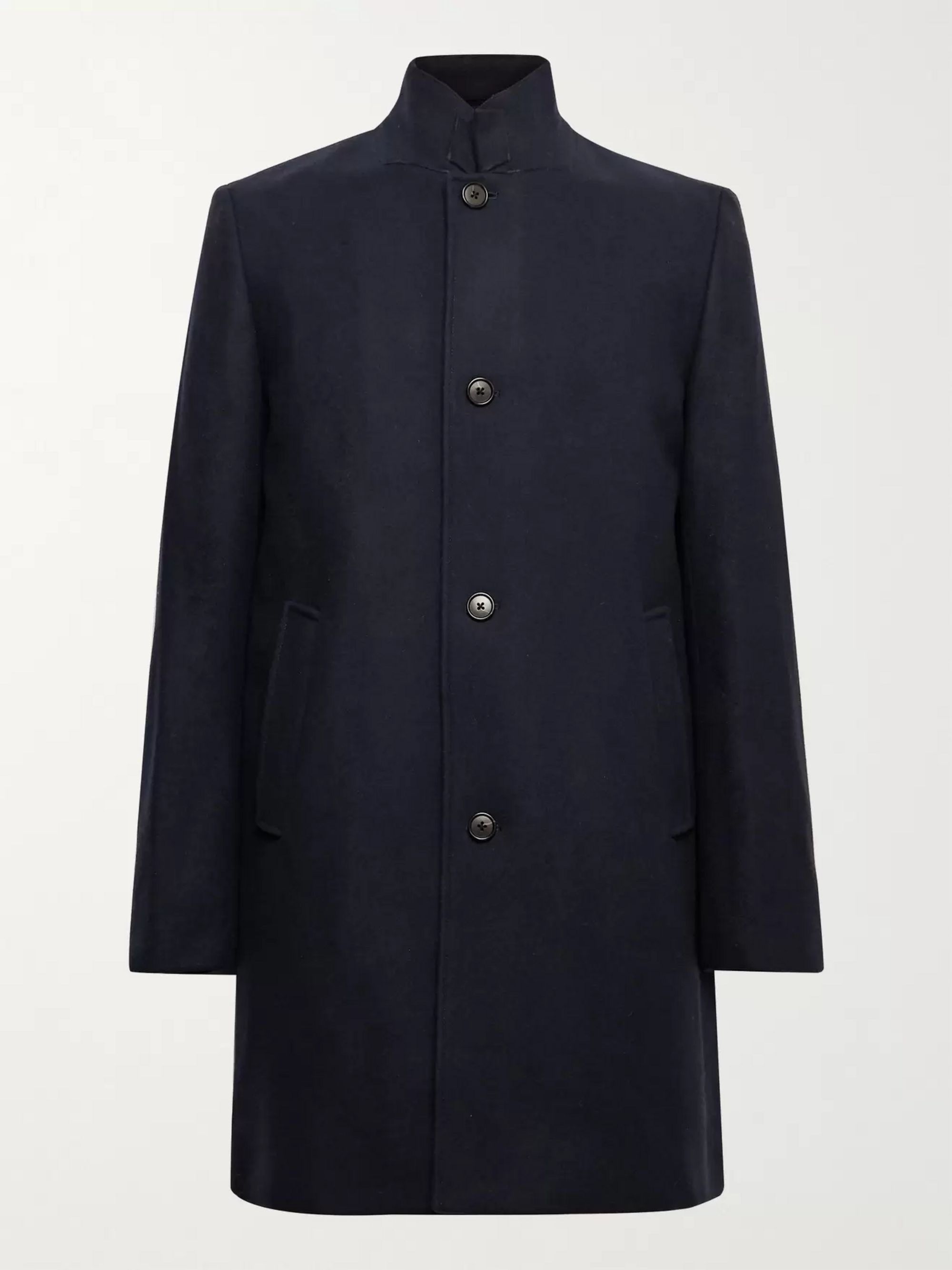 CLUB MONACO Loukas Wool-Blend Overcoat